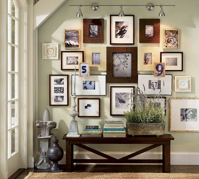 if you have a tight collage wall of frames planned then of course these rules do not apply such as example on right
